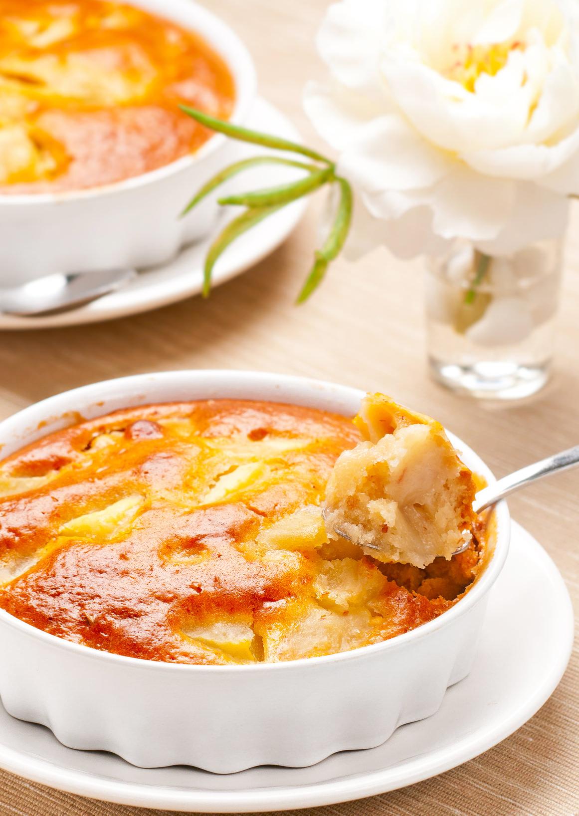 clafoutis pommes amandes un bon desserts d 39 automne d licieux ti de les recettes de cuisine et mets. Black Bedroom Furniture Sets. Home Design Ideas