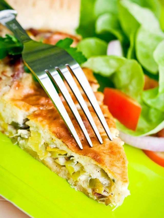 Recette de la tarte poireaux et saint jacques p te for Noix de muscade cuisine