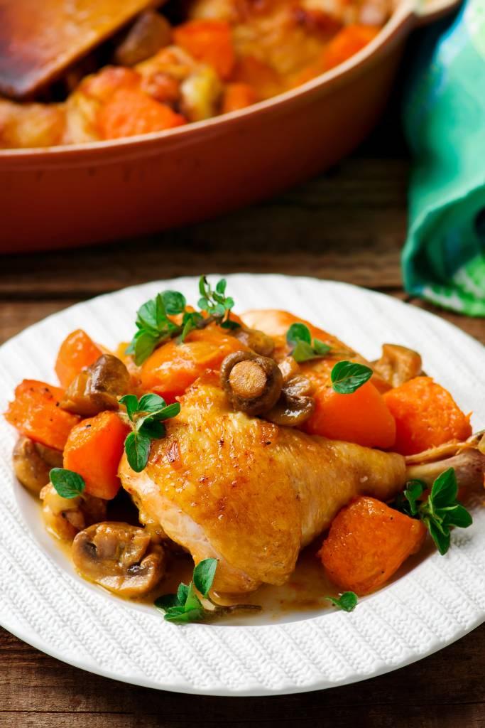 poulet saut au potiron c 39 est l 39 automne utiliser les l gumes de saison les recettes de cuisine. Black Bedroom Furniture Sets. Home Design Ideas
