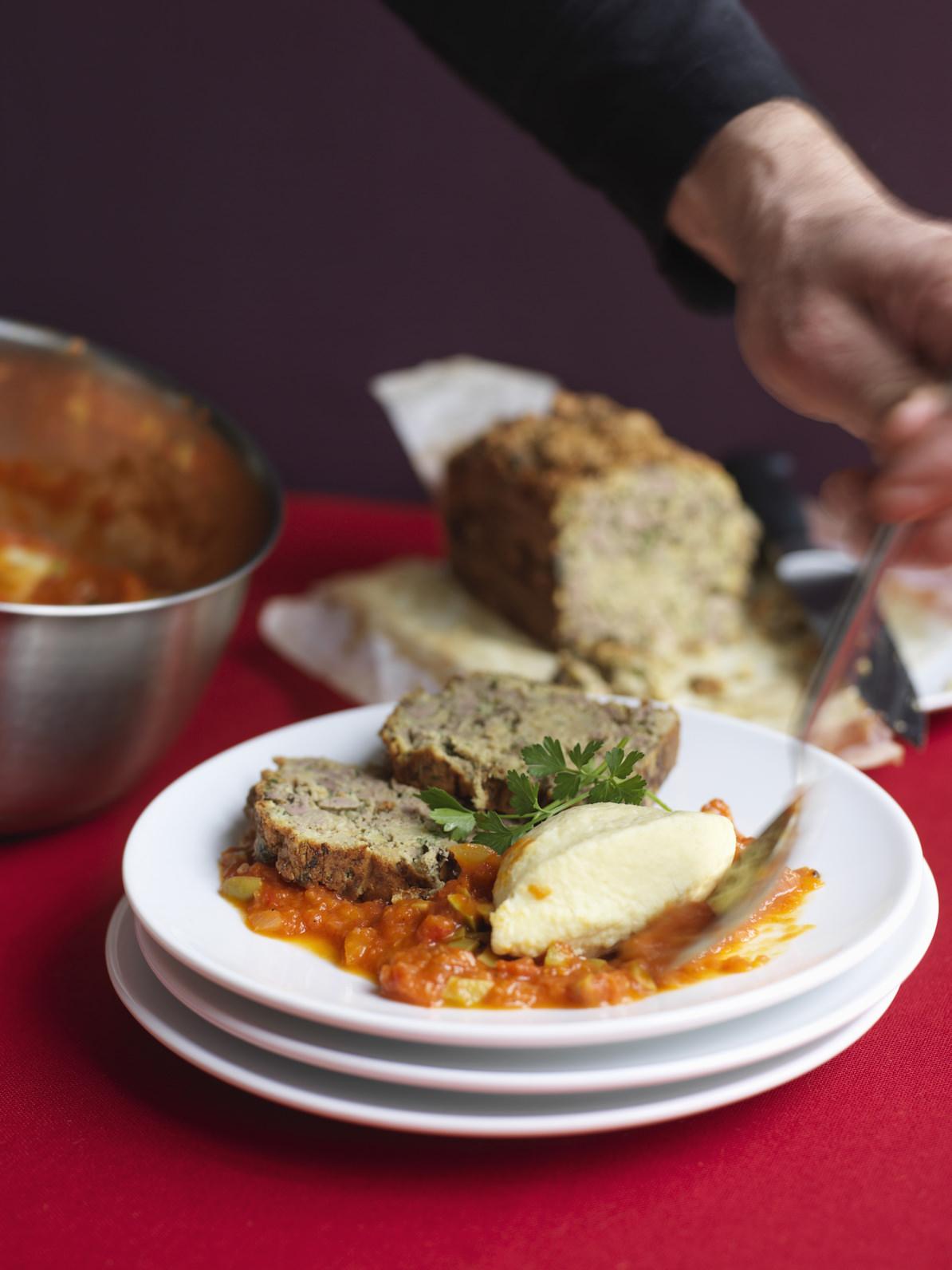 G teau de foie de volaille la lyonnaise une grande - Specialite lyonnaise cuisine ...