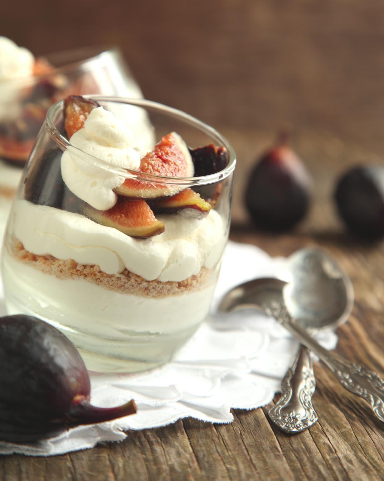 verrines figues et mousse de mascarpone une d 233 lice frais et gourmand les recettes de cuisine et mets