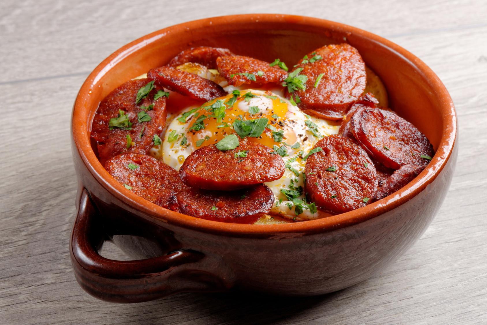 Pommes de terre au chorizo un plat simple convivial et for Plat simple et convivial