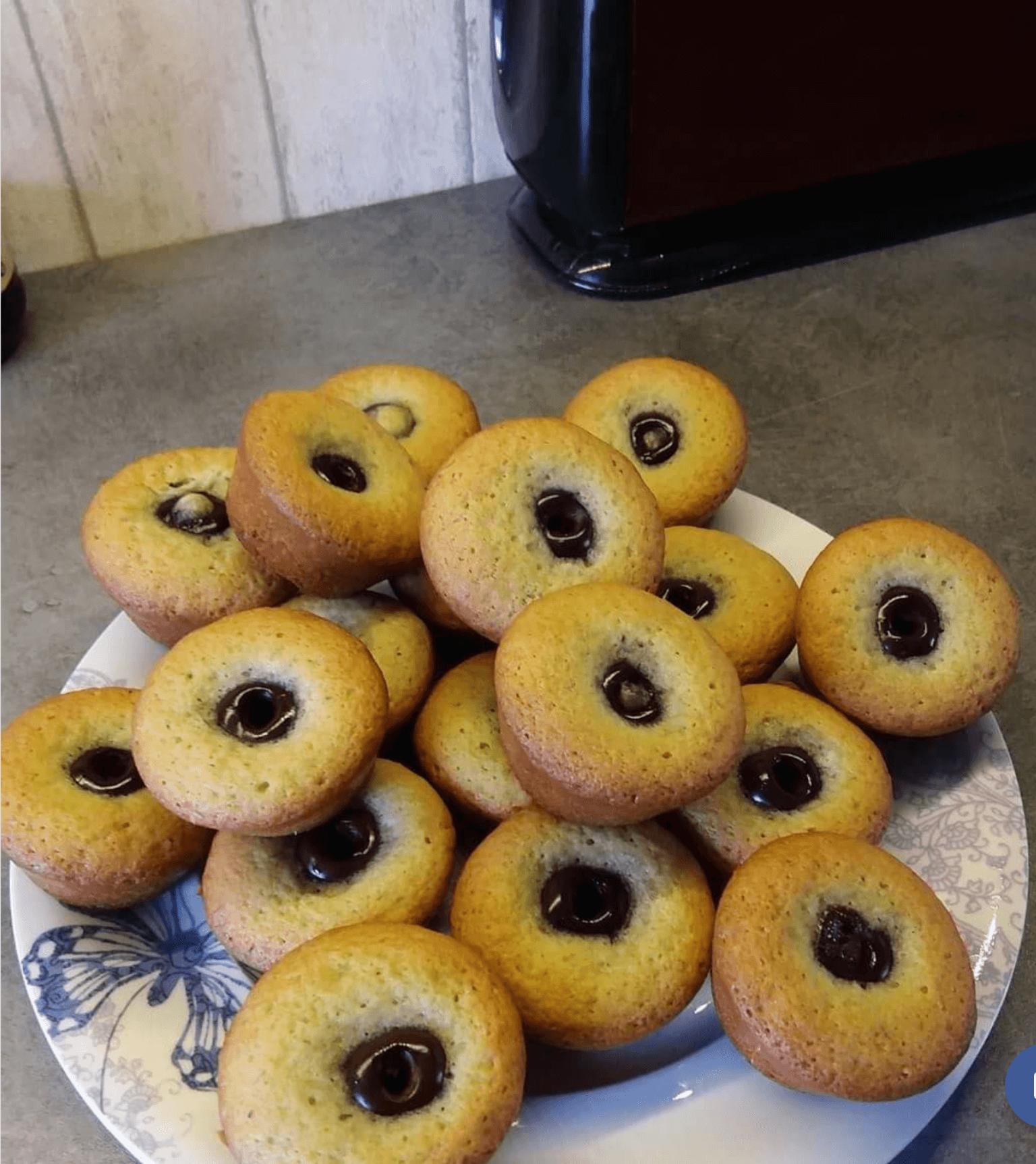 muffins la cerise des petits gateaux fourr s d licieux les recettes de cuisine et mets. Black Bedroom Furniture Sets. Home Design Ideas